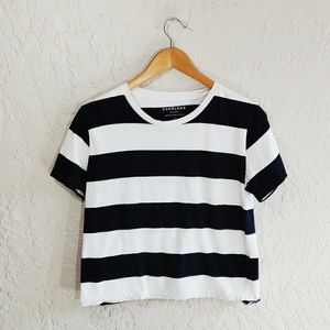 Everlane Box-Cut Stripe T-Shirt